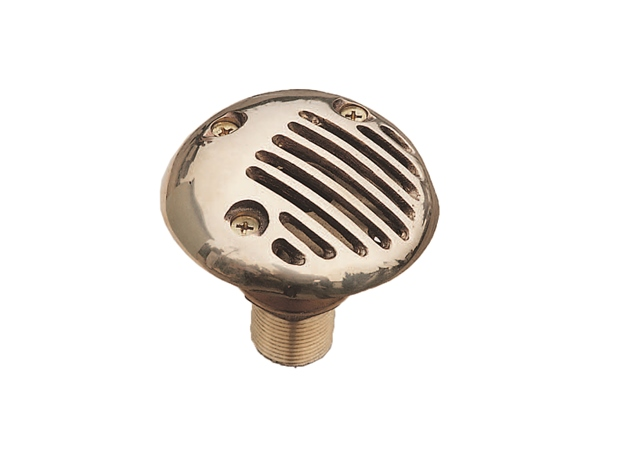 Bronze Intake Strainer(Removable Cover)