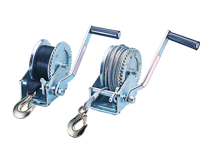 Winches with Steel Cable